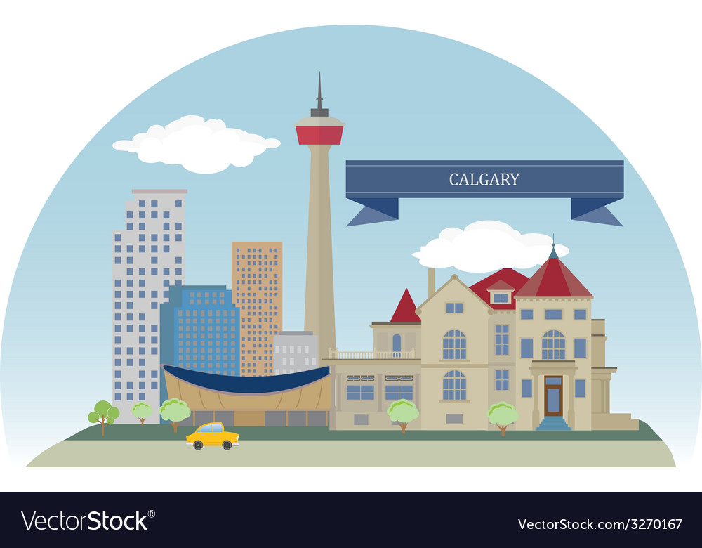Calgary vector   Price: 1 Credit (USD $1)