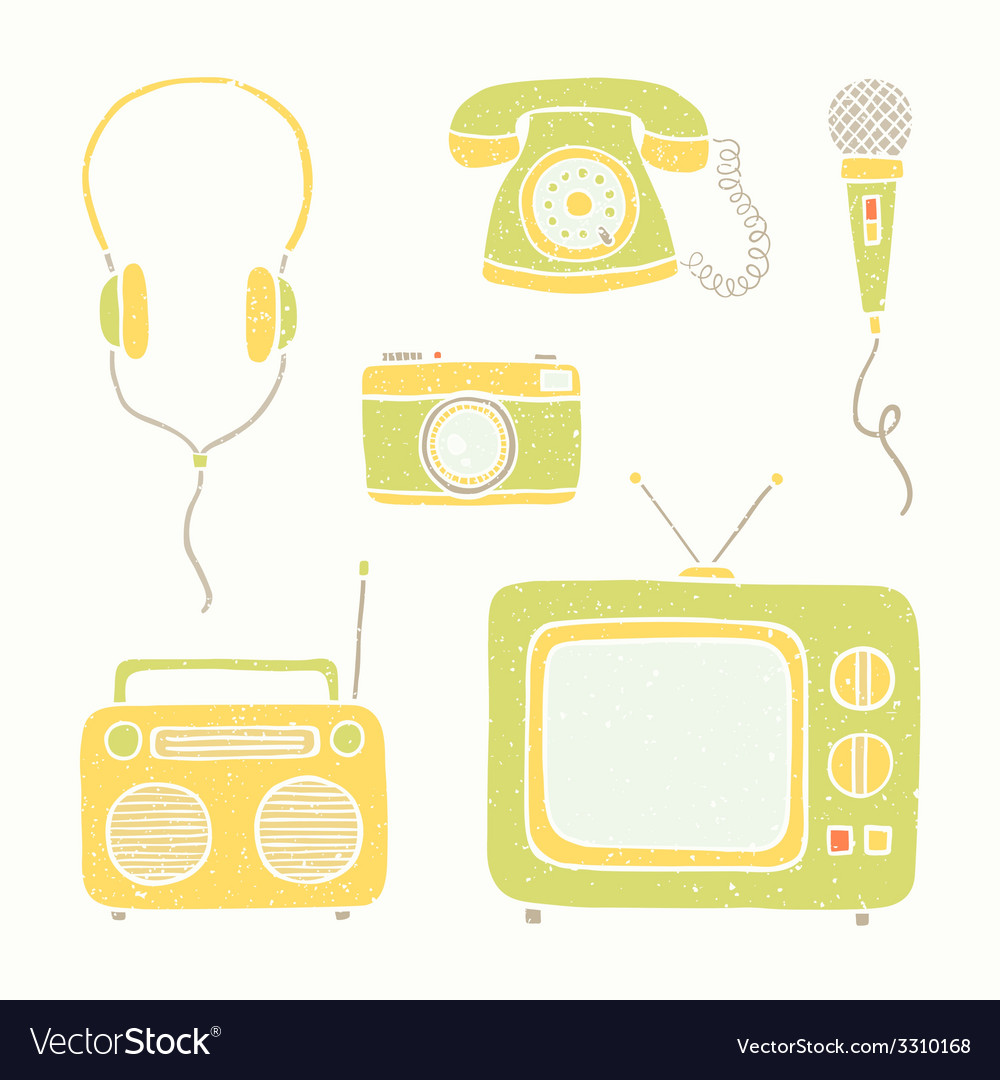 Emtertainment appliances and accessories vector | Price: 1 Credit (USD $1)