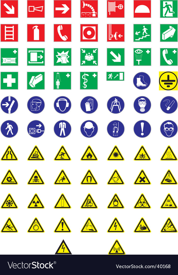 Information signs vector | Price: 1 Credit (USD $1)