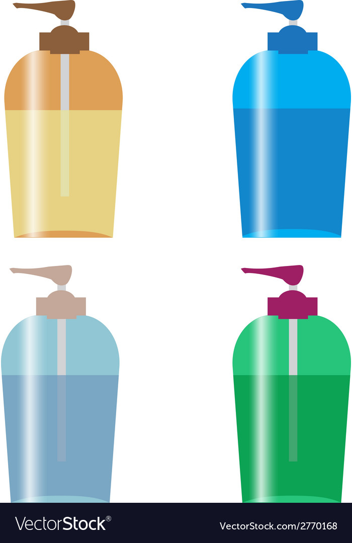 Pump bottle vector | Price: 1 Credit (USD $1)