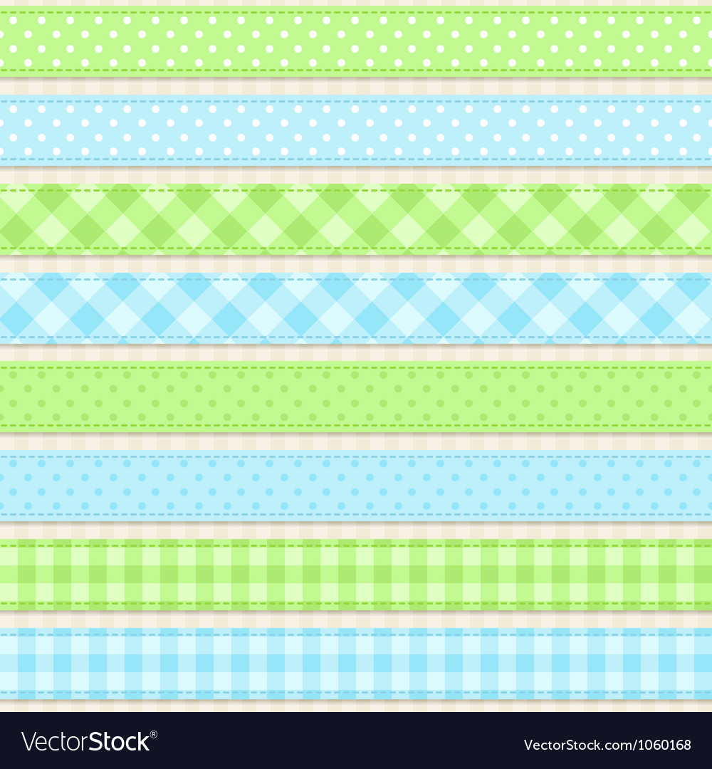 Ribbons and borders vector