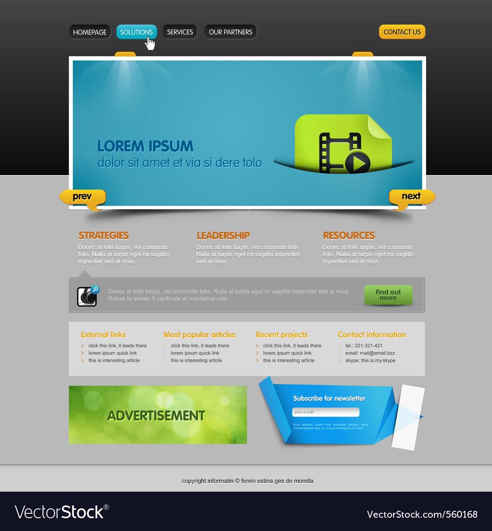 Web page vector | Price: 3 Credit (USD $3)