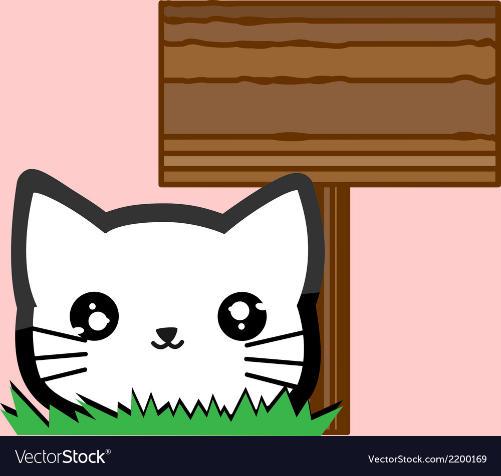 Little animal with sign set vector | Price: 1 Credit (USD $1)