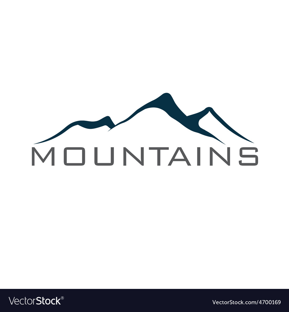Mountains abstract vector | Price: 1 Credit (USD $1)