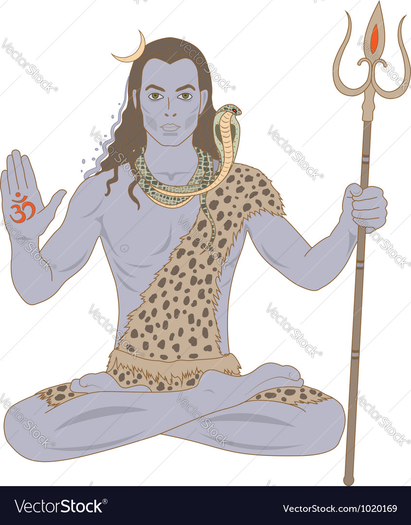 Shiva vector | Price: 1 Credit (USD $1)