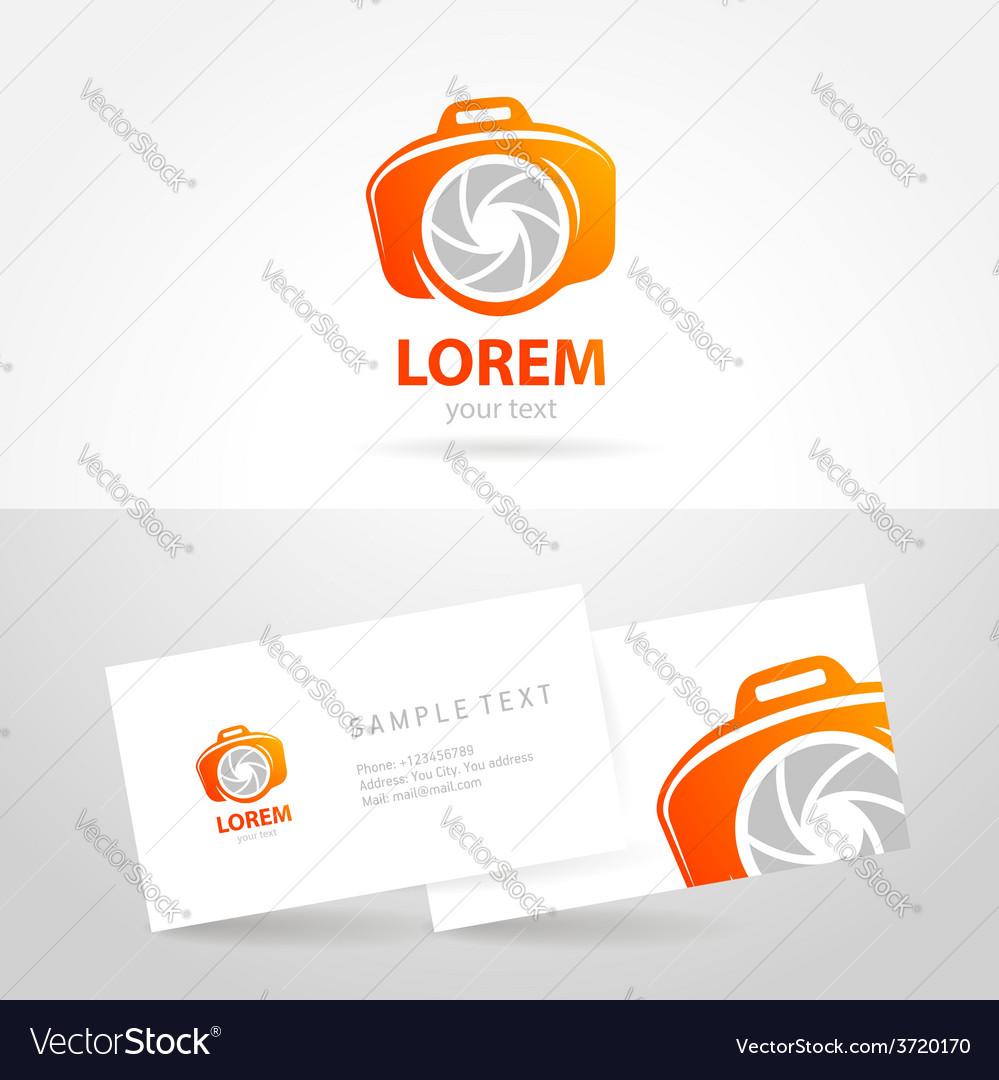 Photo smile symbol emblem sign camera vector | Price: 1 Credit (USD $1)