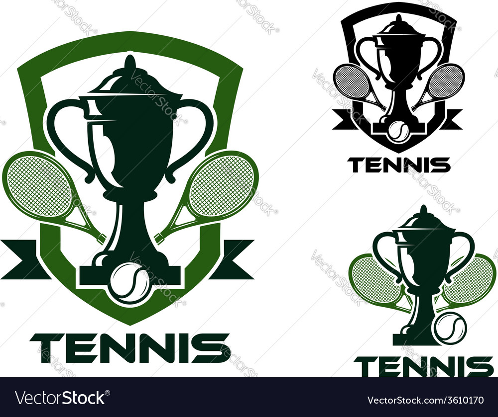 Tennis tournament badges and logo vector   Price: 1 Credit (USD $1)