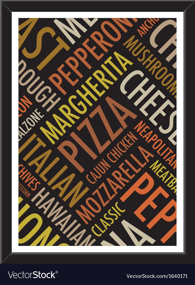 Pizza background vector   Price: 1 Credit (USD $1)