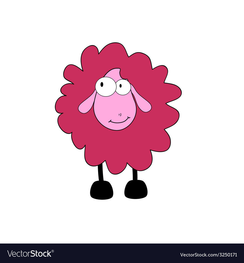 Sheep cartoon part two vector | Price: 1 Credit (USD $1)