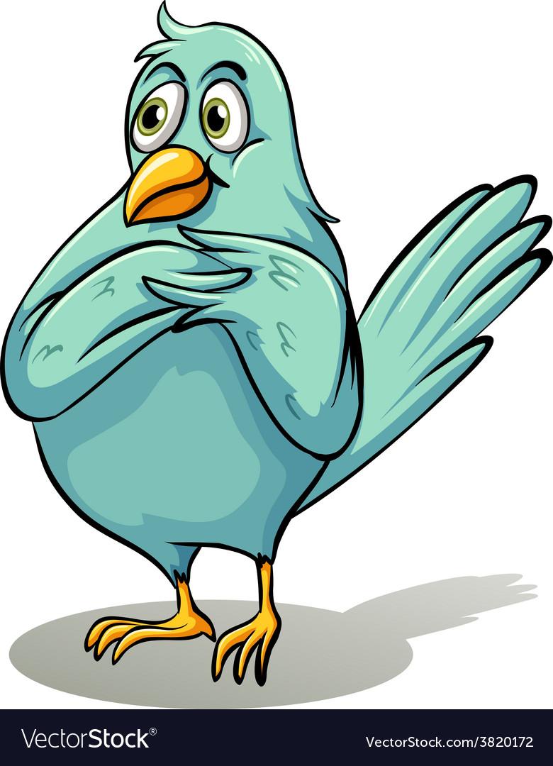 A bird vector | Price: 3 Credit (USD $3)