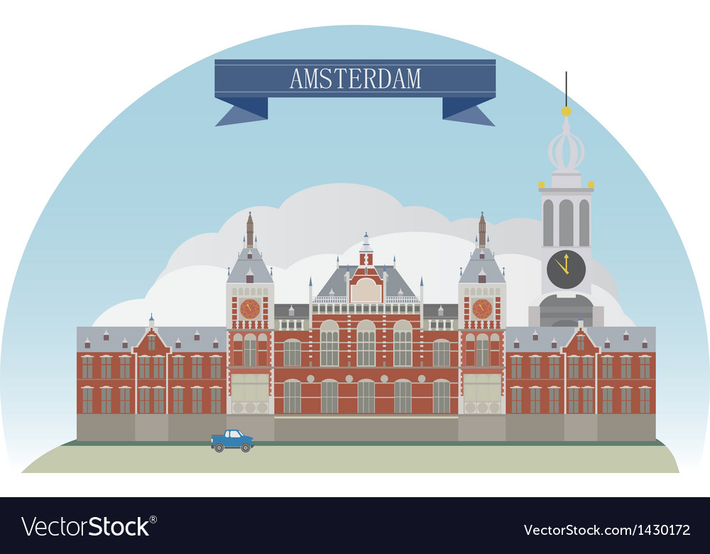 Amsterdam vector | Price: 3 Credit (USD $3)