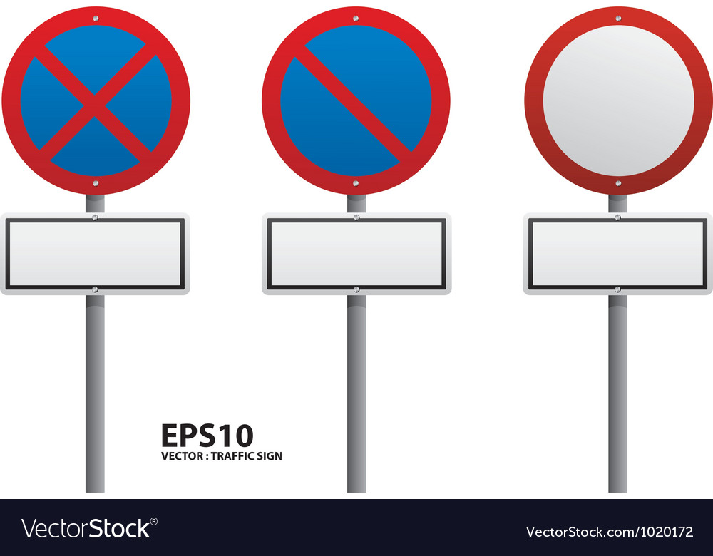 Traffic sign red color vector   Price: 1 Credit (USD $1)