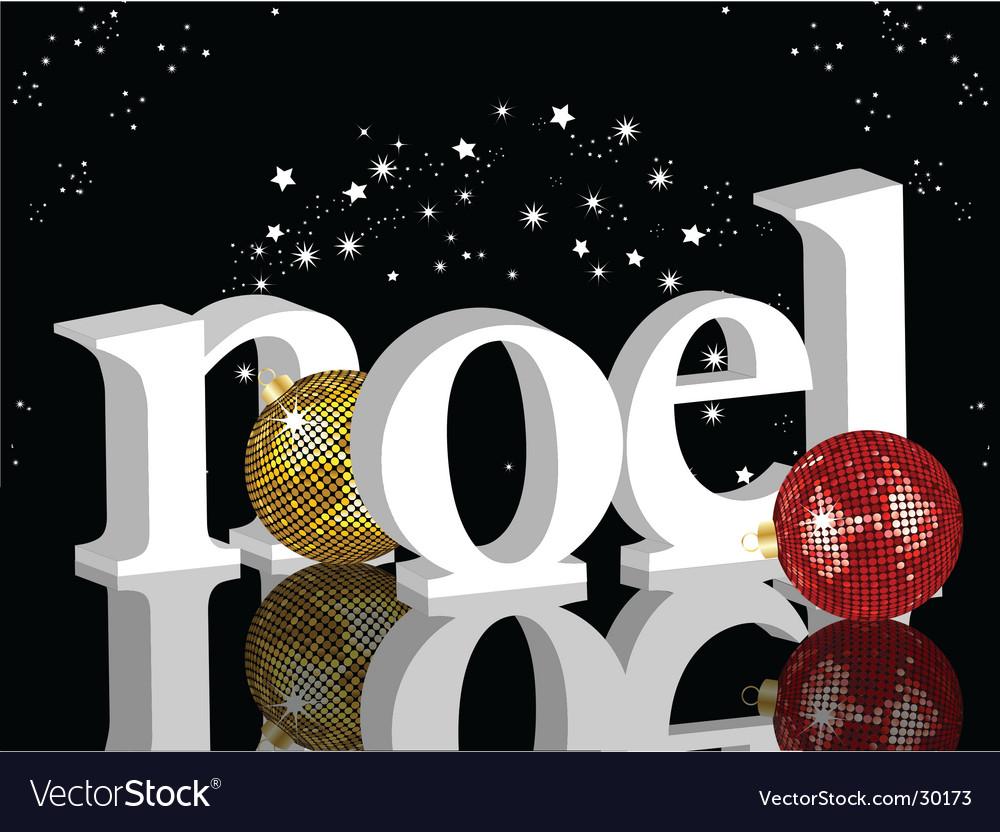 Christmas noel vector | Price: 1 Credit (USD $1)
