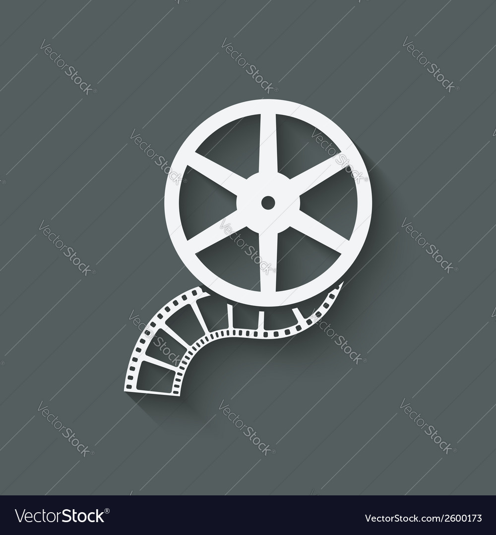 Film roll design element vector | Price: 1 Credit (USD $1)