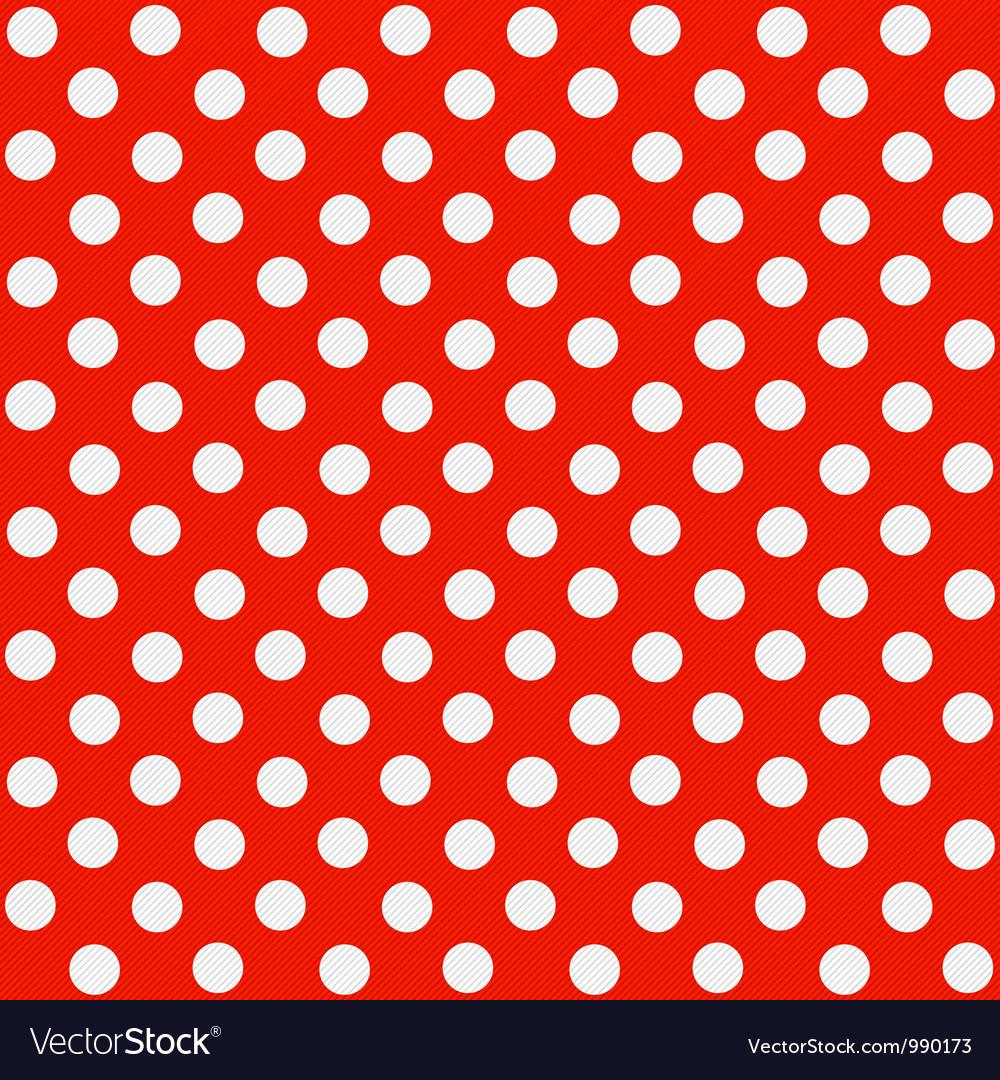Seamless polka dot pattern vector | Price: 1 Credit (USD $1)