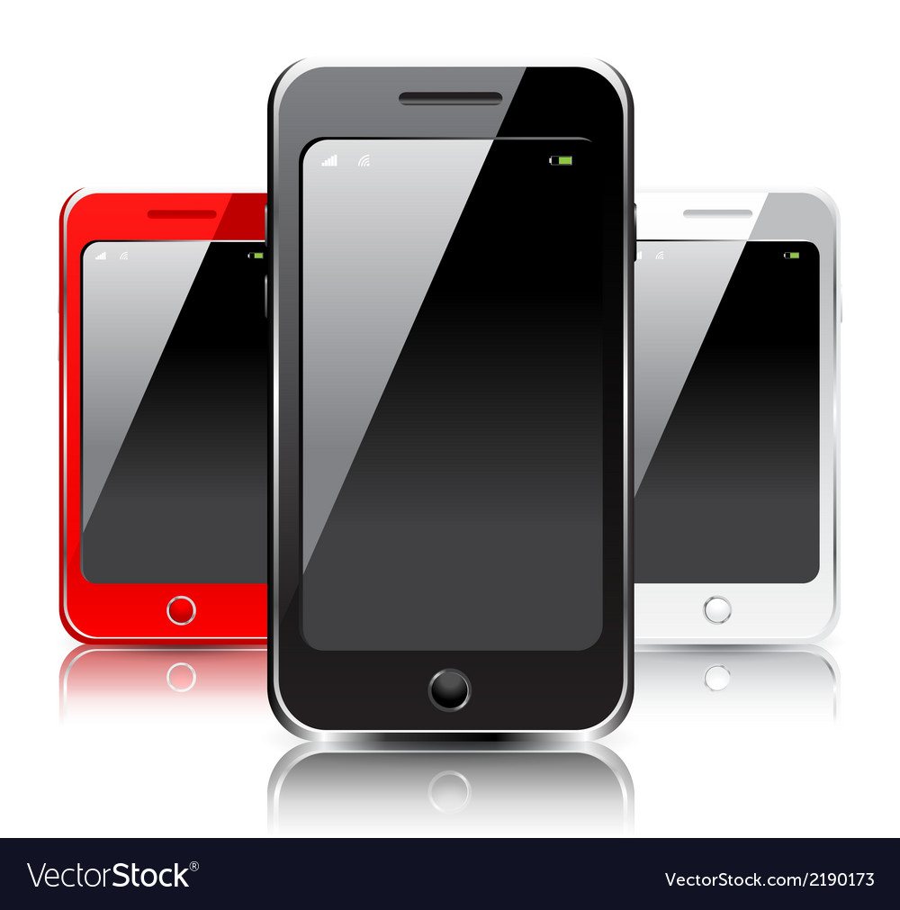 Smartphone icons vector | Price: 1 Credit (USD $1)