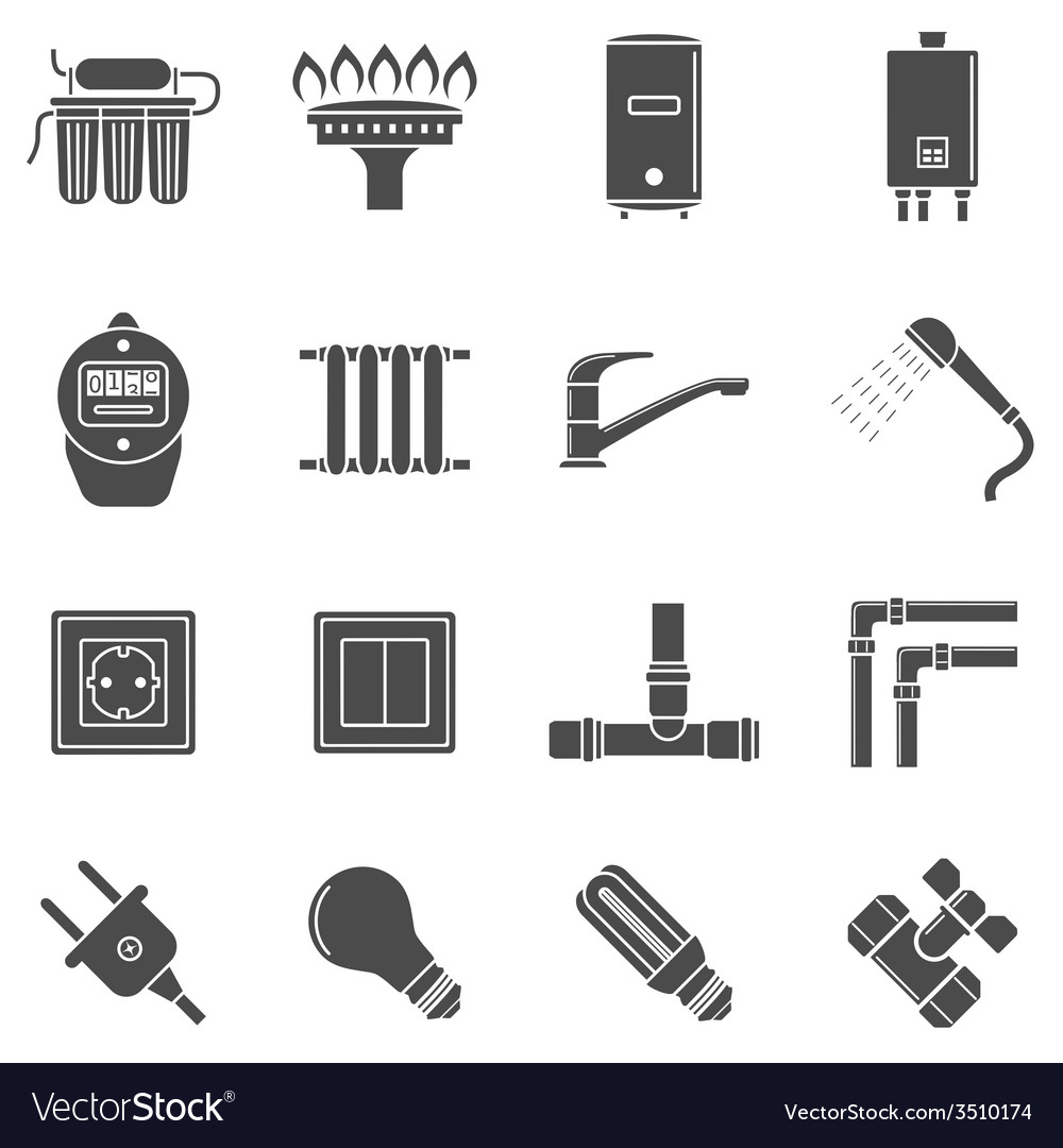 Home supply vector | Price: 1 Credit (USD $1)