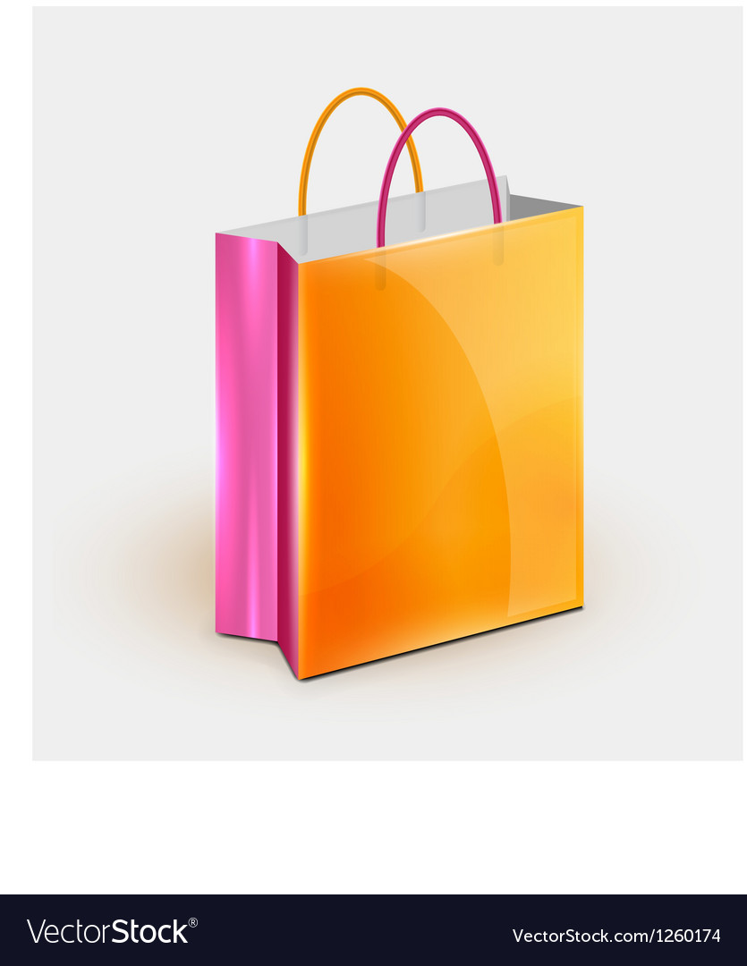 Shopping bag icon vector | Price: 3 Credit (USD $3)