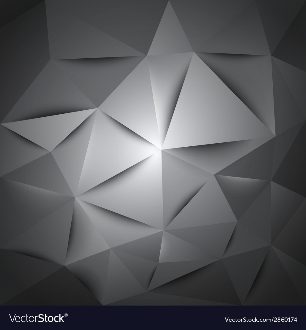 Triangles gray vector | Price: 1 Credit (USD $1)