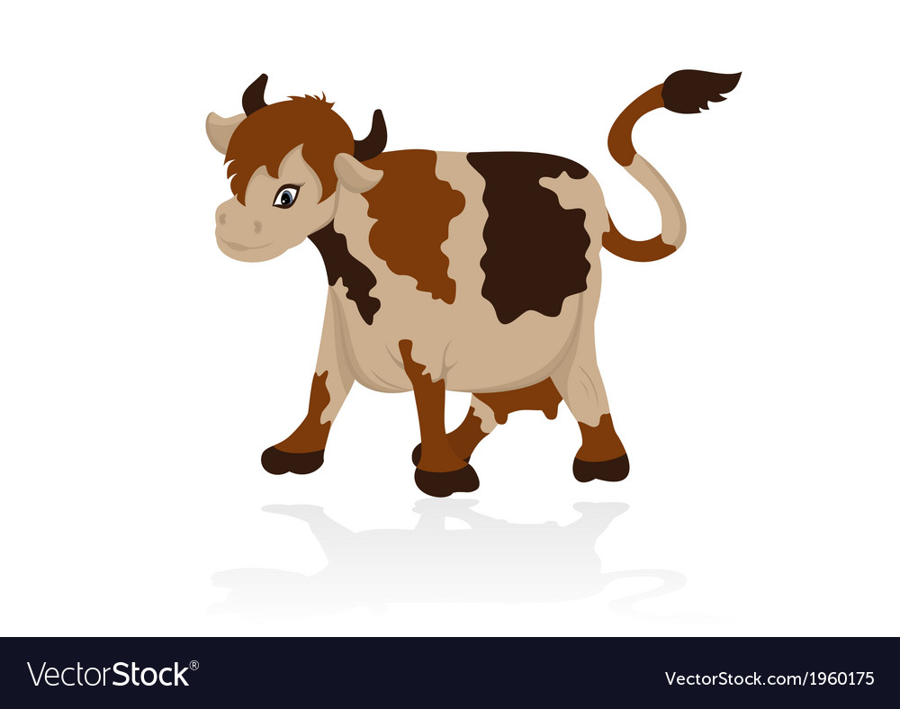 Abstract cow vector | Price: 1 Credit (USD $1)