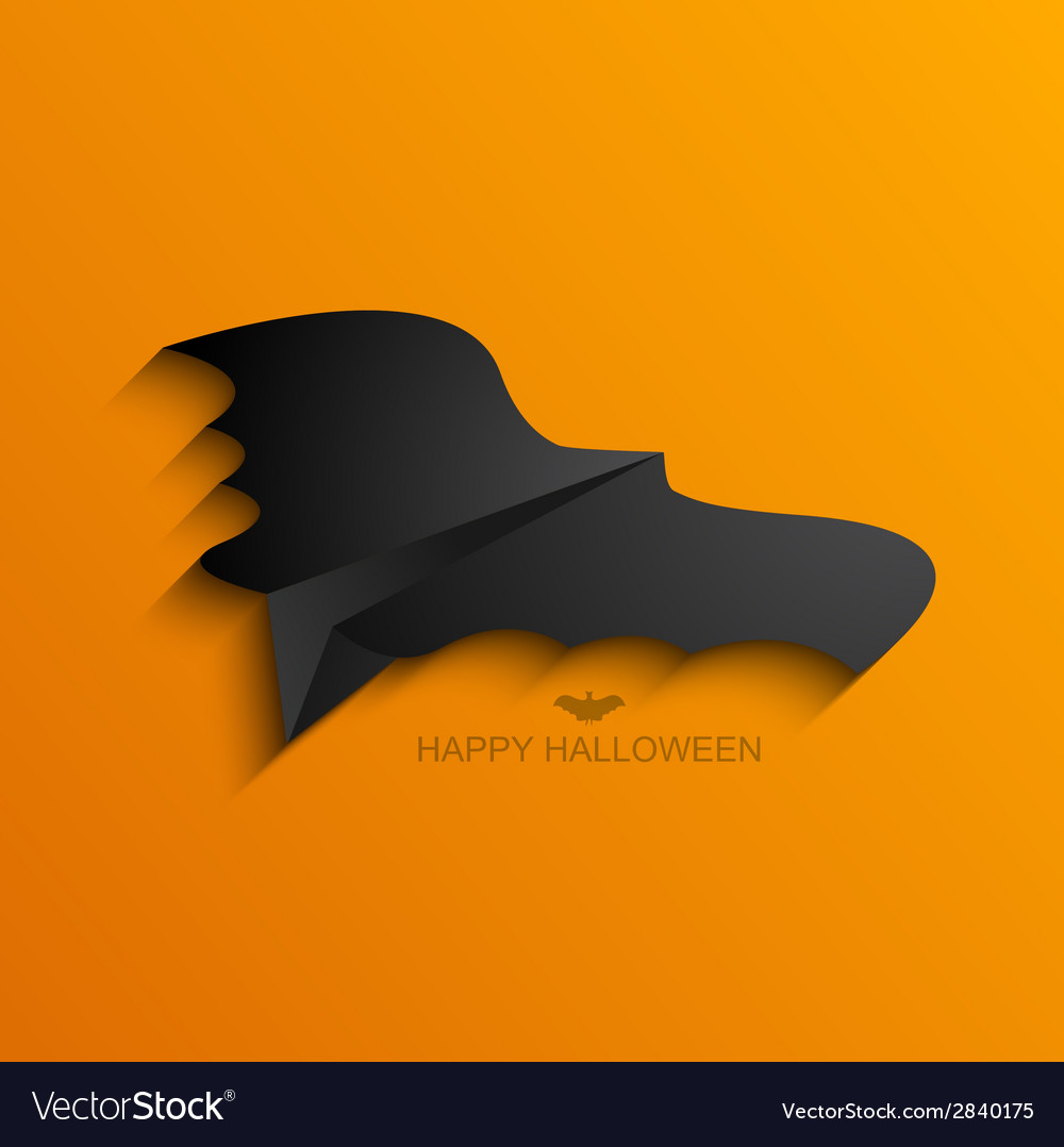 Modern halloween background vector | Price: 1 Credit (USD $1)