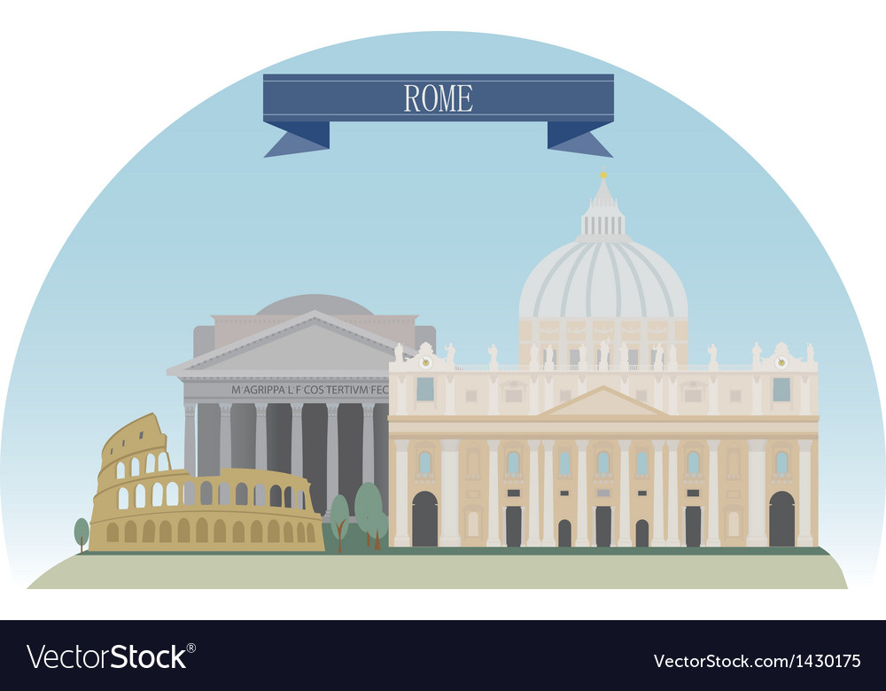 Rome vector | Price: 3 Credit (USD $3)