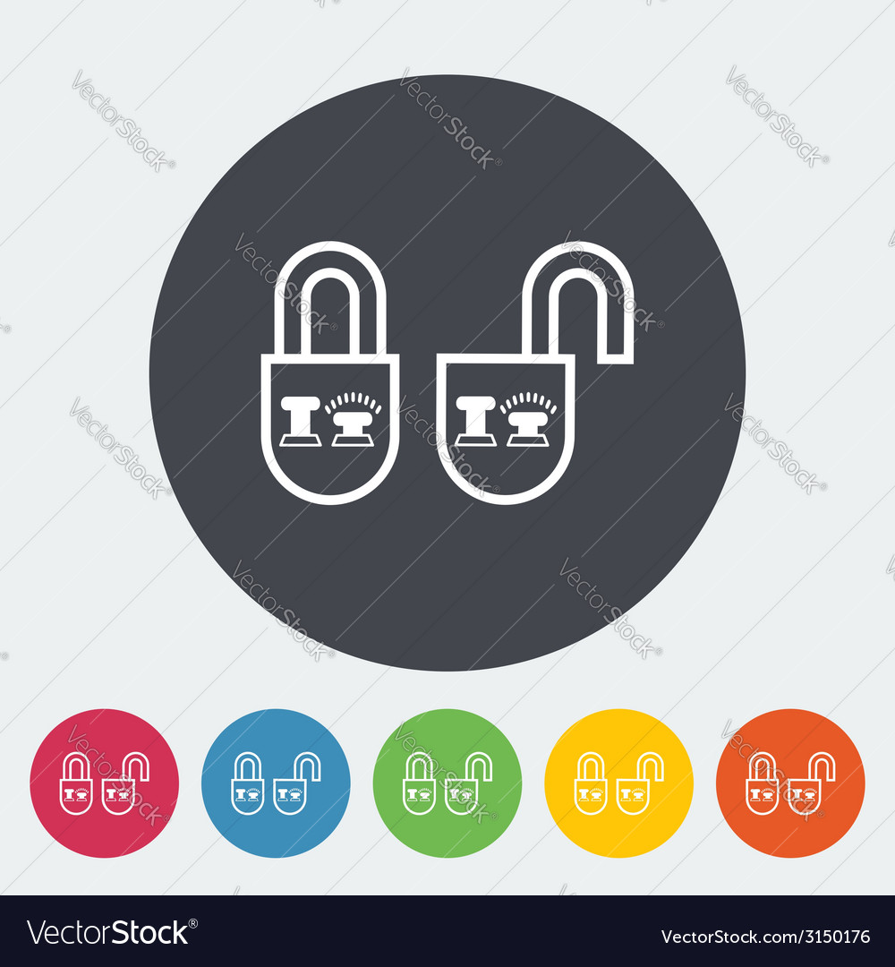 Locking doors vector | Price: 1 Credit (USD $1)