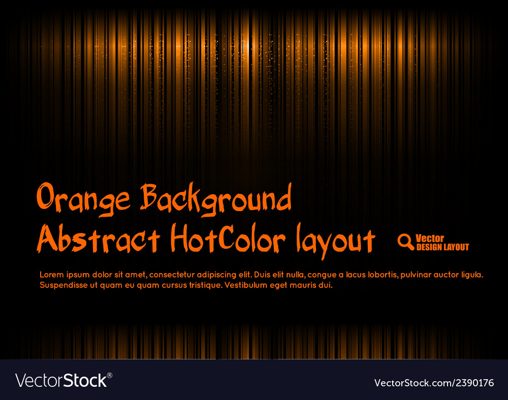 Orange template vector | Price: 1 Credit (USD $1)