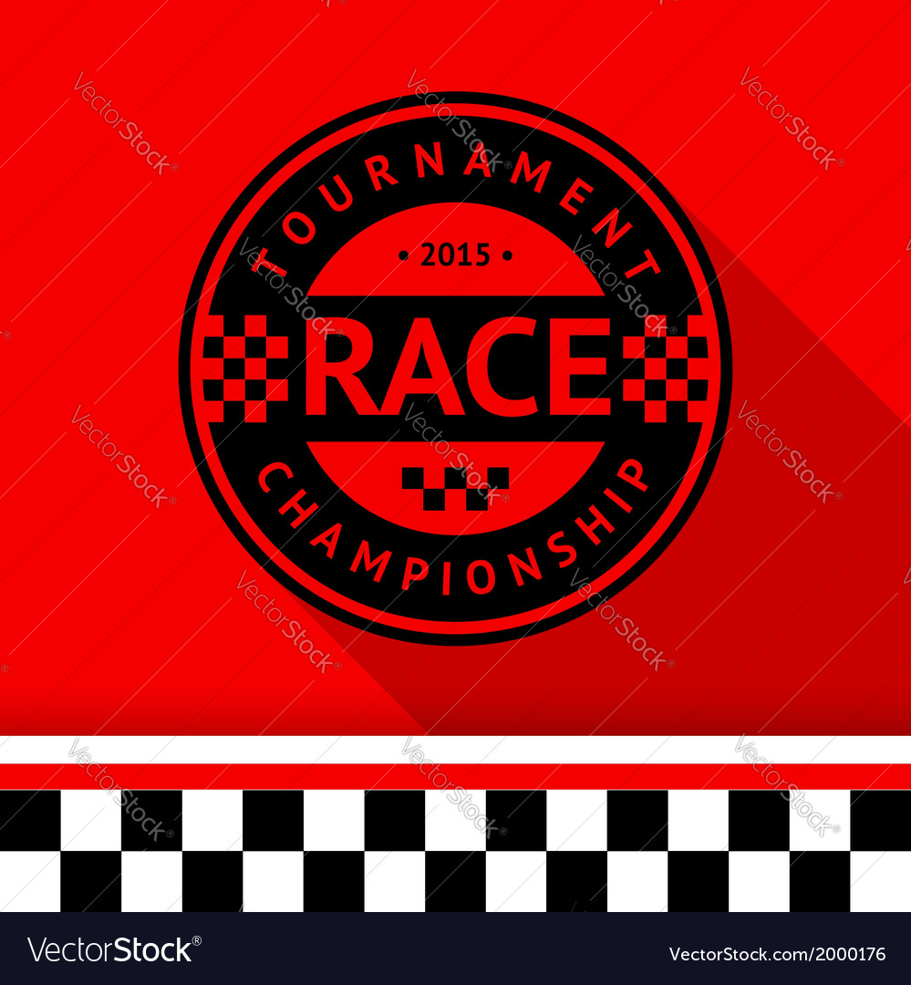 Racing stamp-07 vector   Price: 1 Credit (USD $1)