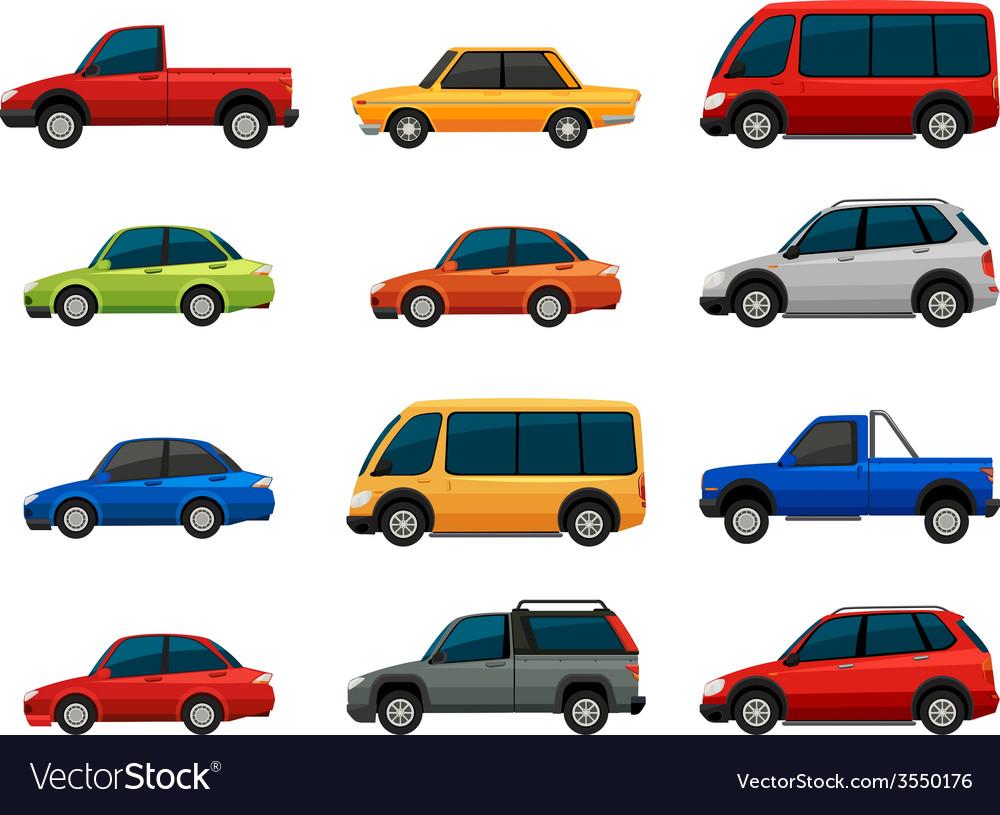 Vehicles vector | Price: 1 Credit (USD $1)