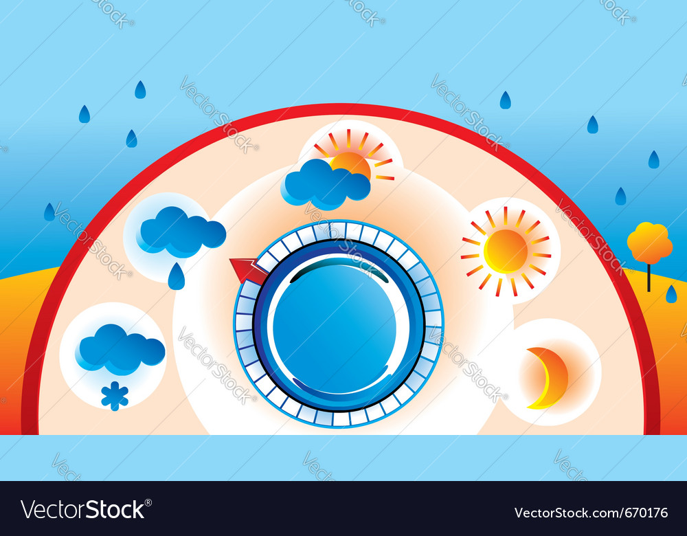 Weather thermometer vector   Price: 1 Credit (USD $1)