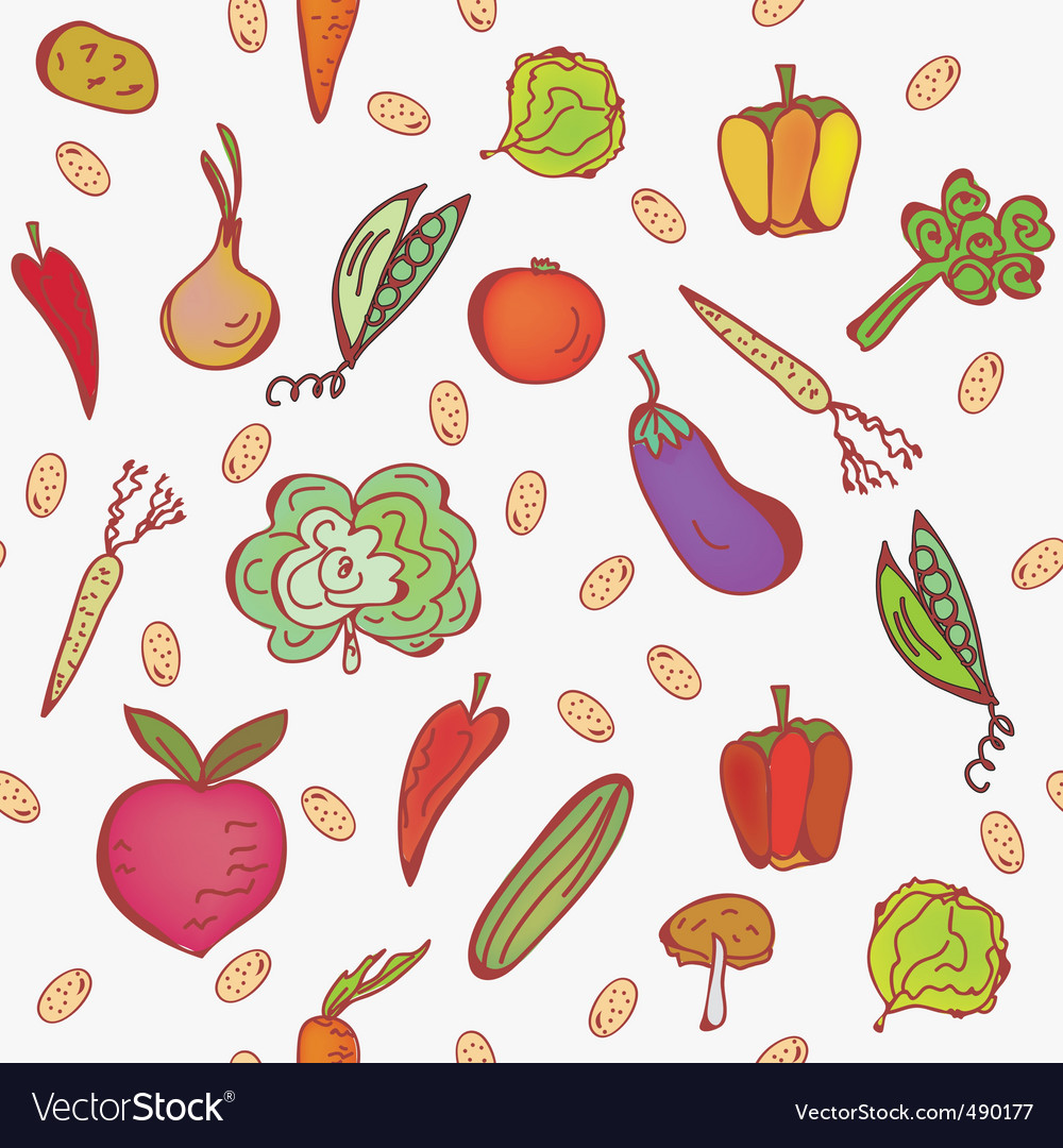 Vegetables2 vector | Price: 1 Credit (USD $1)