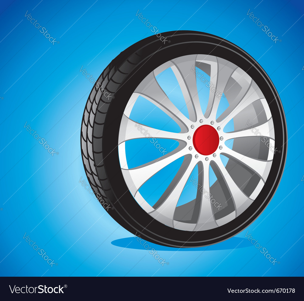 Alloy wheels vector | Price: 3 Credit (USD $3)