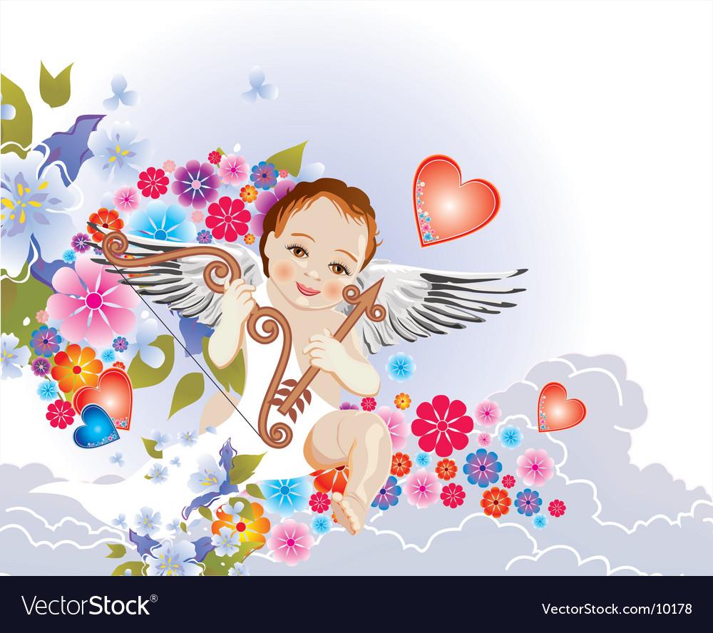 Cupid vector | Price: 3 Credit (USD $3)