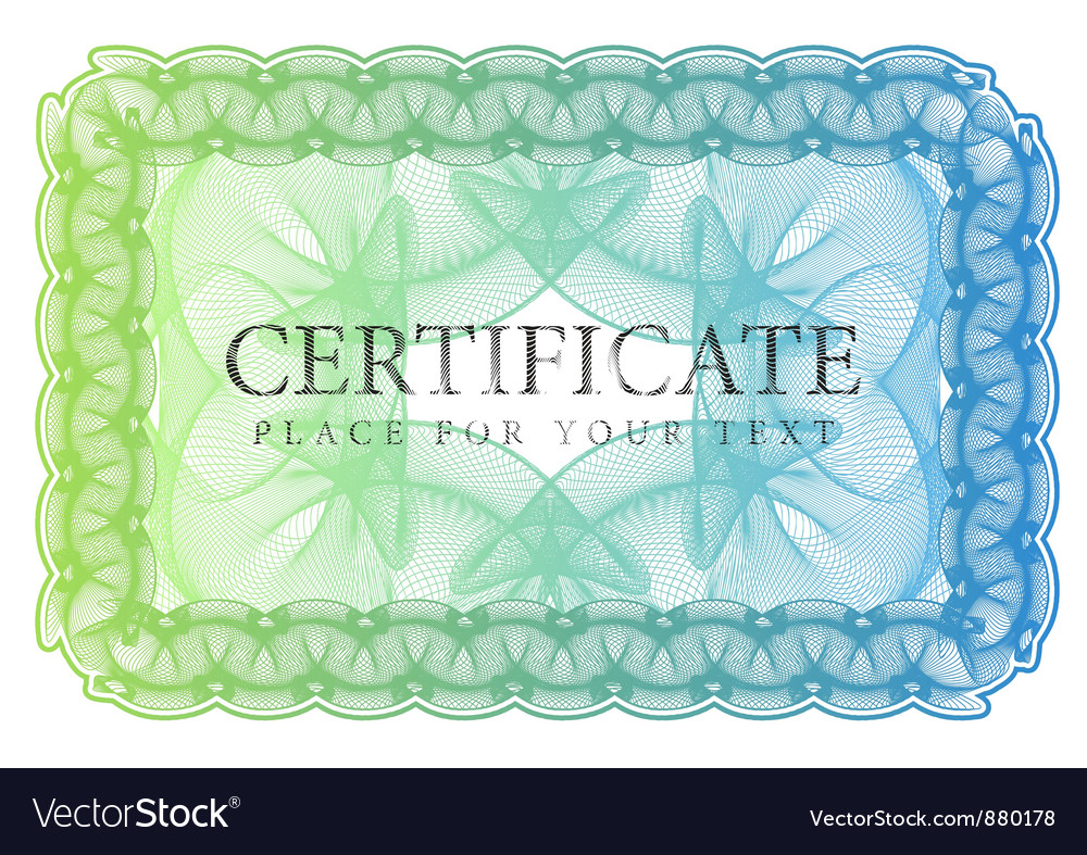 Pattern that is used in currency and diplomas vector | Price: 1 Credit (USD $1)