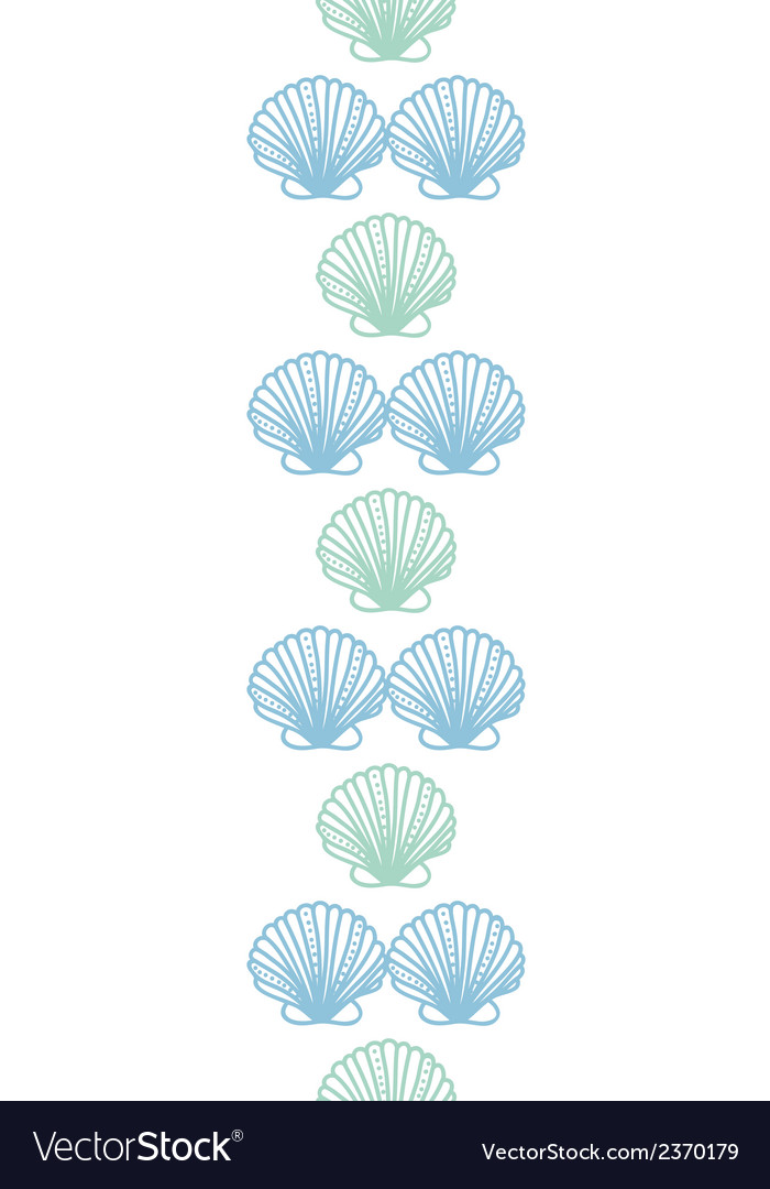 Abstract seashels stripes vertical seamless vector | Price: 1 Credit (USD $1)