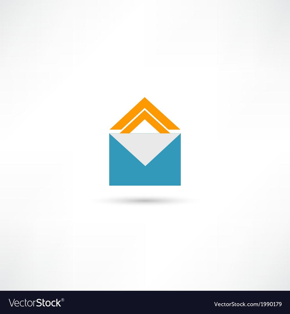 Envelope icon vector | Price: 1 Credit (USD $1)