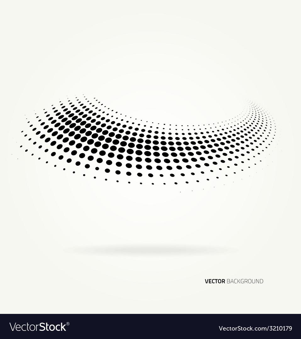 Halftone dots vector | Price: 1 Credit (USD $1)