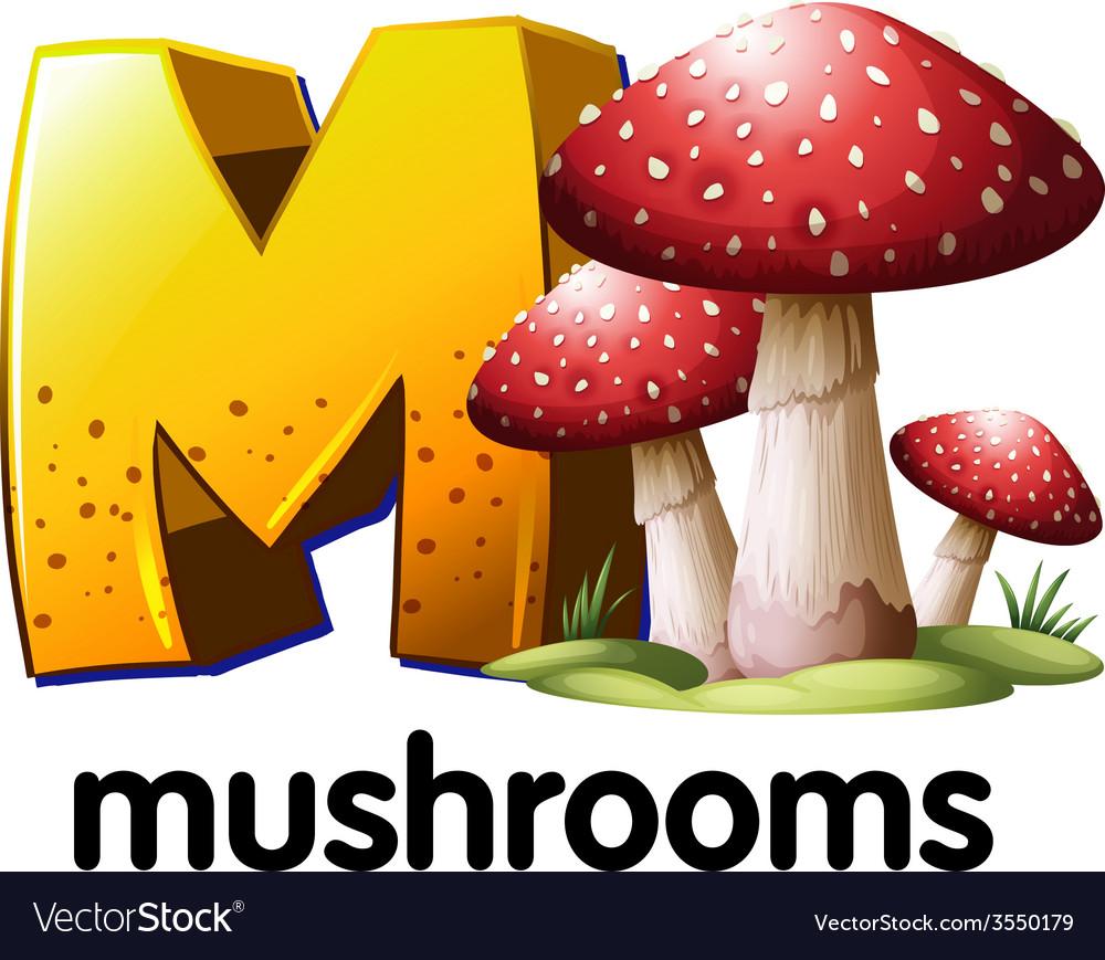 Mushroom vector | Price: 1 Credit (USD $1)