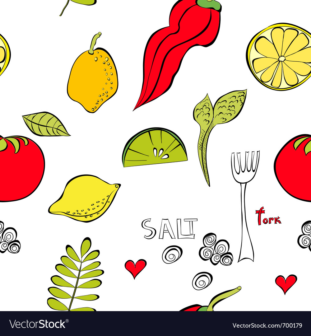 With fruit and vegetable vector | Price: 1 Credit (USD $1)