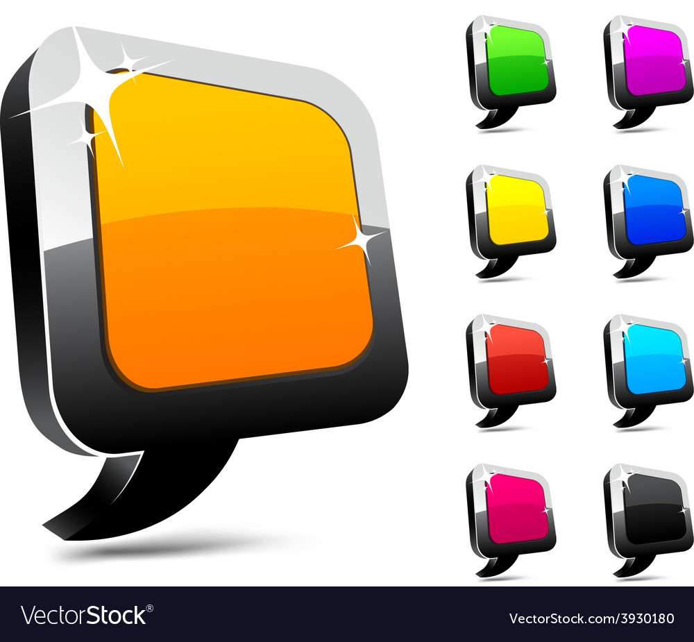3d balloon icons vector   Price: 1 Credit (USD $1)