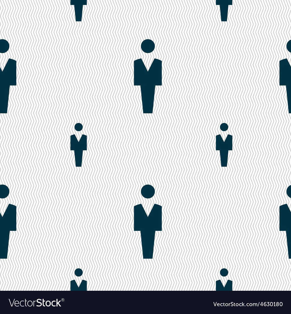 Human man person male toilet icon sign seamless vector   Price: 1 Credit (USD $1)