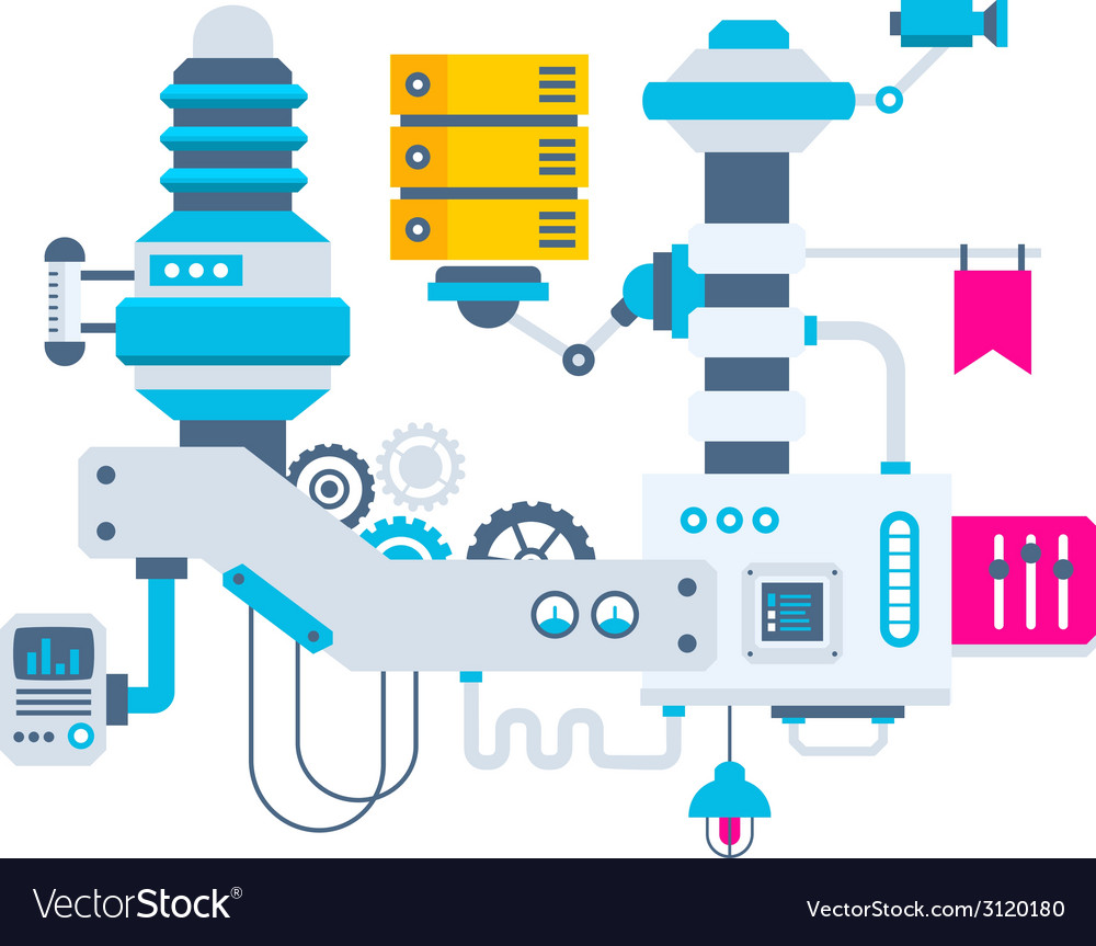 Industrial background of the factory for mea vector   Price: 1 Credit (USD $1)