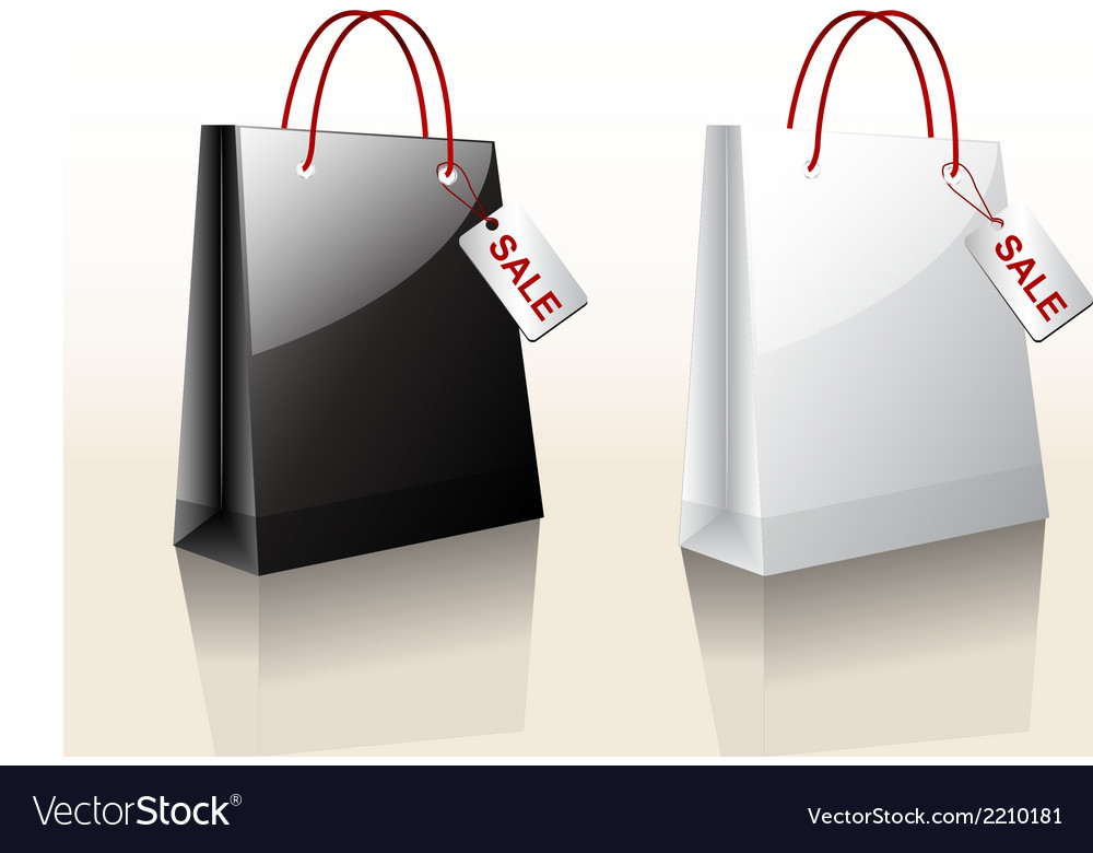 Bag sale vector | Price: 1 Credit (USD $1)