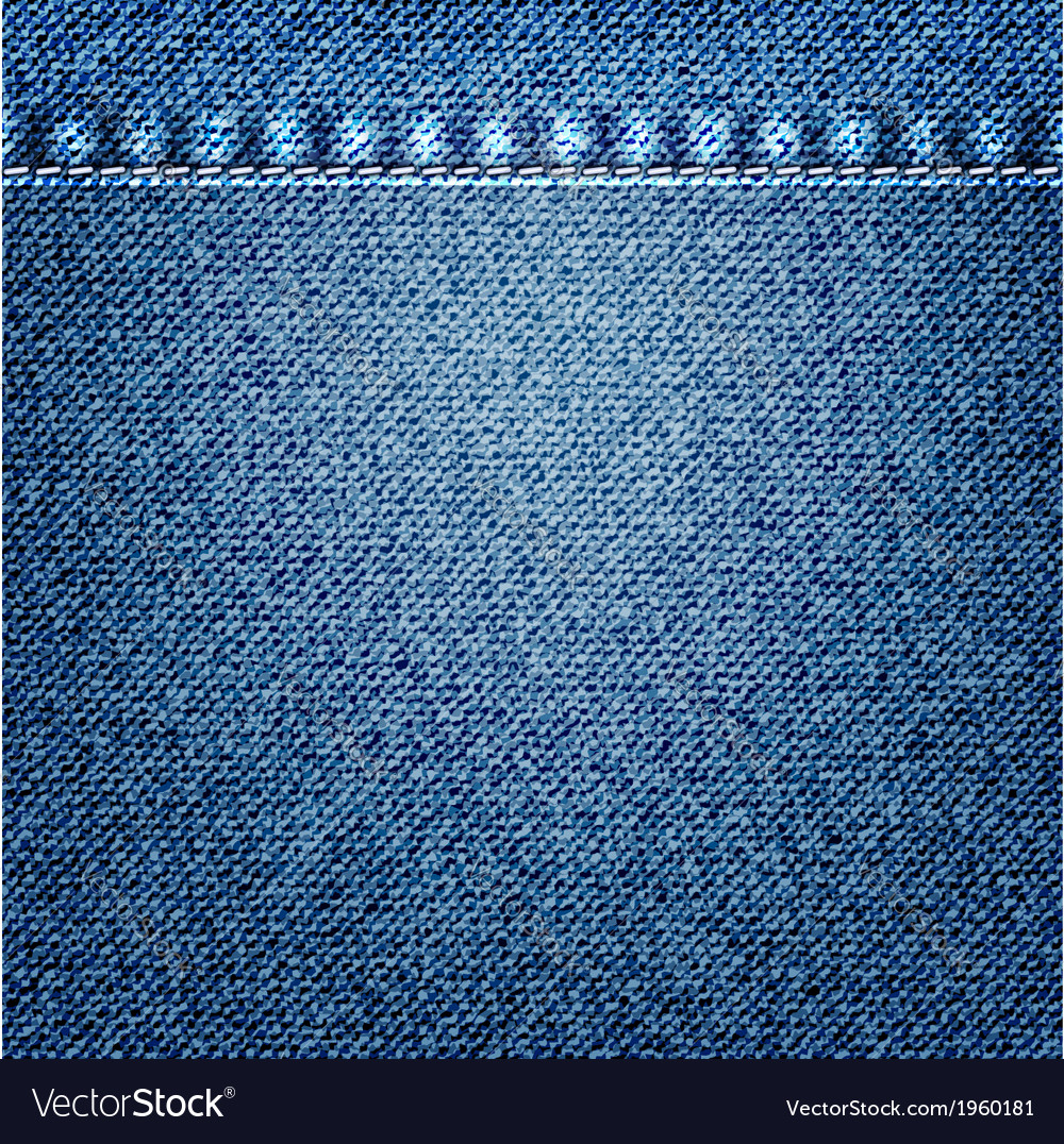 Blue jeans texture vector | Price: 1 Credit (USD $1)