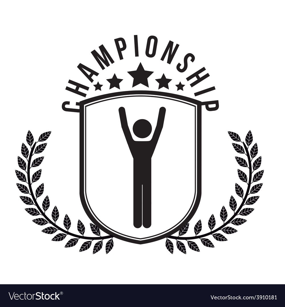 Championship design vector | Price: 1 Credit (USD $1)