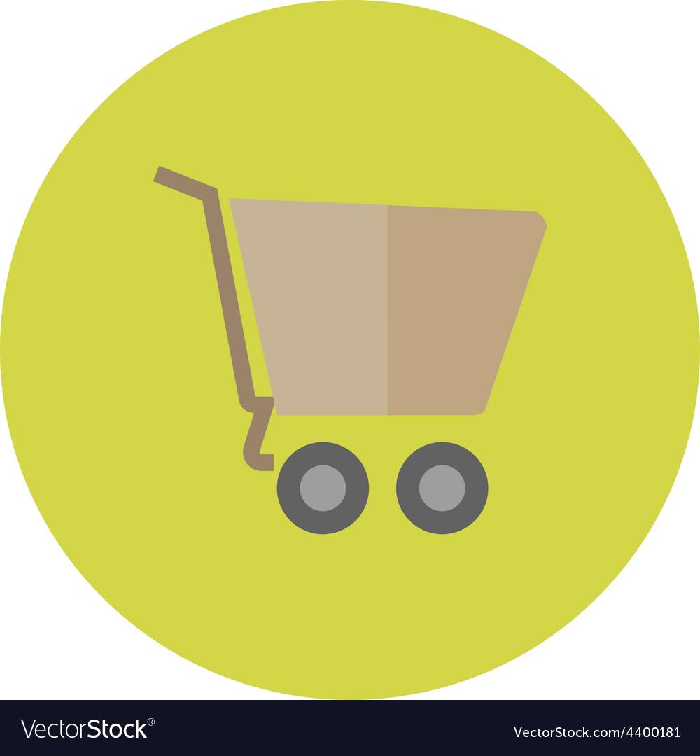 Empty cart vector | Price: 1 Credit (USD $1)