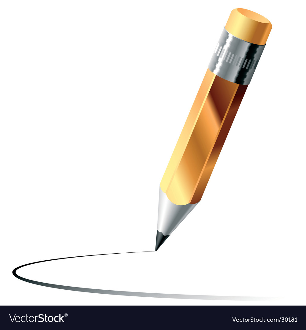 Graphite pencil vector | Price: 1 Credit (USD $1)