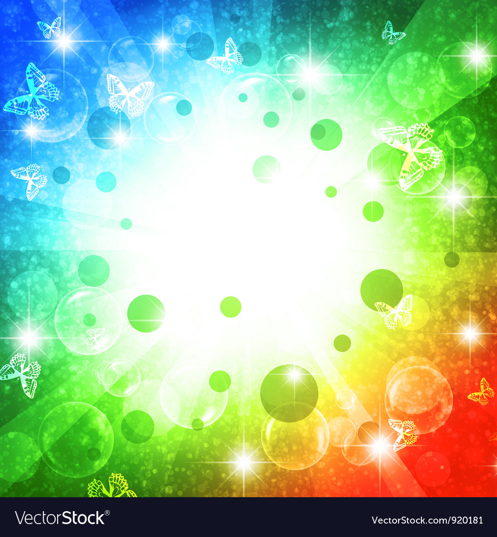 Holiday bright multicolored background vector | Price: 1 Credit (USD $1)