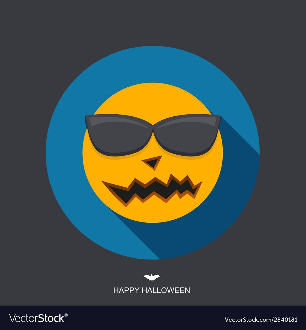 Modern halloween background vector | Price: 1 Credit (USD $1)